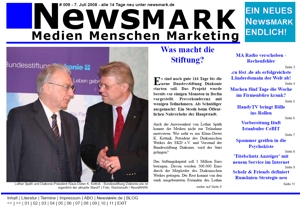 NewsMARK #009 vom 7. Juli 2008