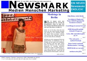 NewsMARK #010 vom 21. Juli 2008
